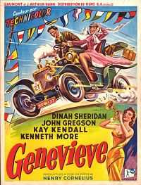 Genevieve (1953) Hindi Dubbed Download Dual Audio 300mb