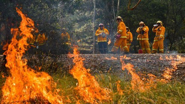 Revelan que cambio climático influye en incendios en Australia