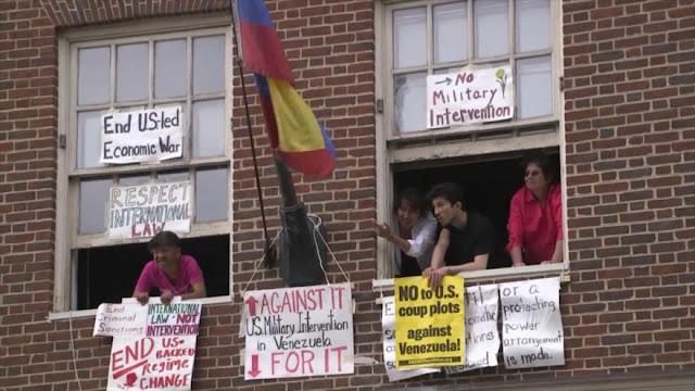 """Inicia juicio contra """"protectores de embajada de Venezuela"""" en EEUU"""