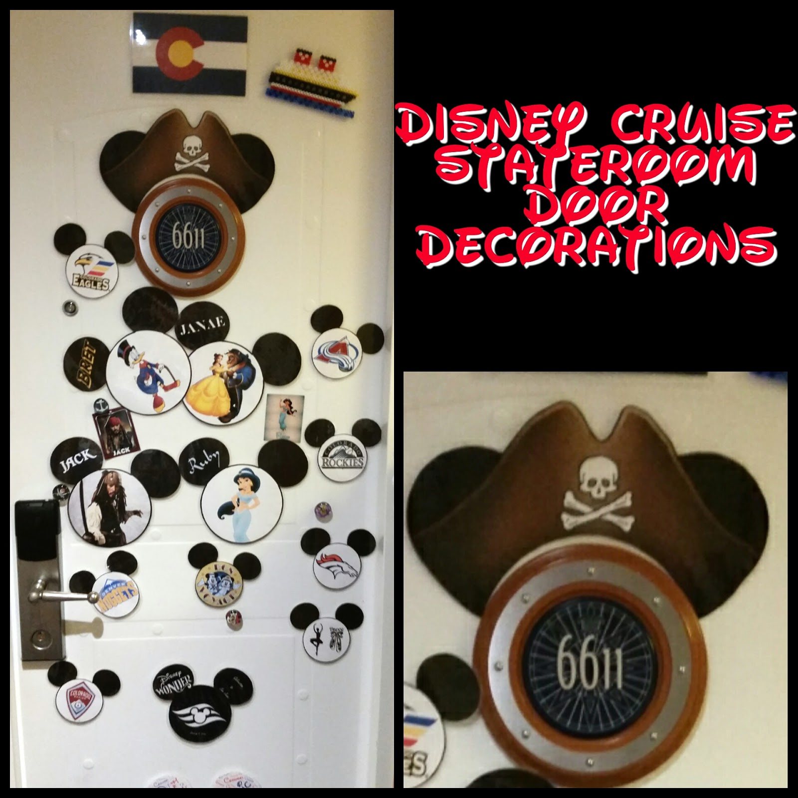 image about Disney Cruise Door Decorations Printable referred to as √ Printable Disney Cruise Doorway Decorations