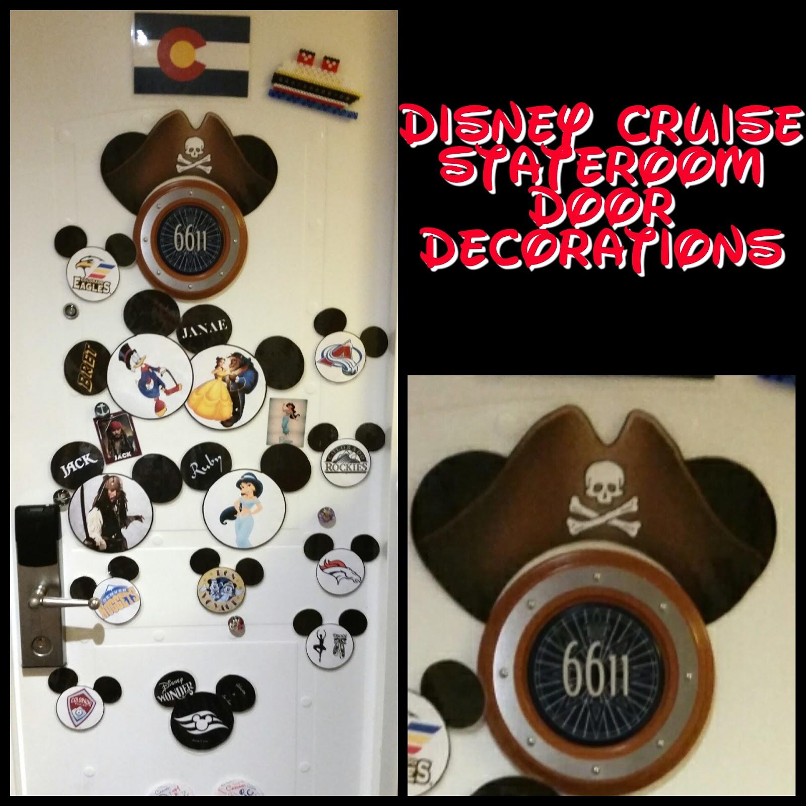 Disney Cruise Door Decorations