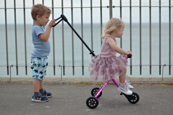 Micro scooter trike, micro trike review, themummyadventure.com