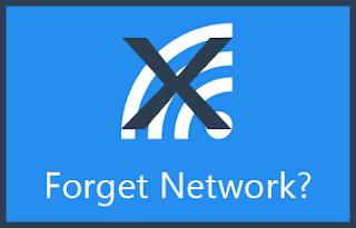 Cara Melakukan Forget Network
