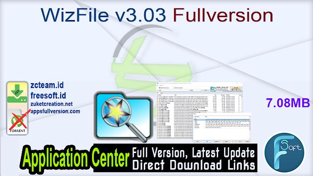 WizFile v3.03 Fullversion