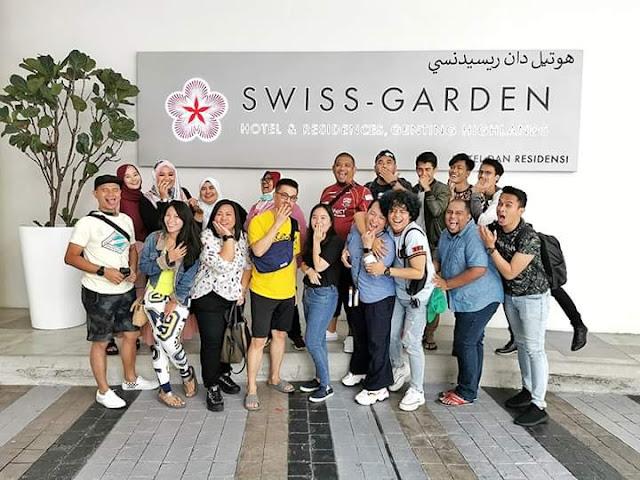 Pengalaman bercuti dan menginap di Swiss-Garden Hotel & Residences, Genting Highlands
