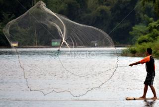 h jaring ikan berbentuk bundar kecil d Kabar Terbaru- JALA IKAN