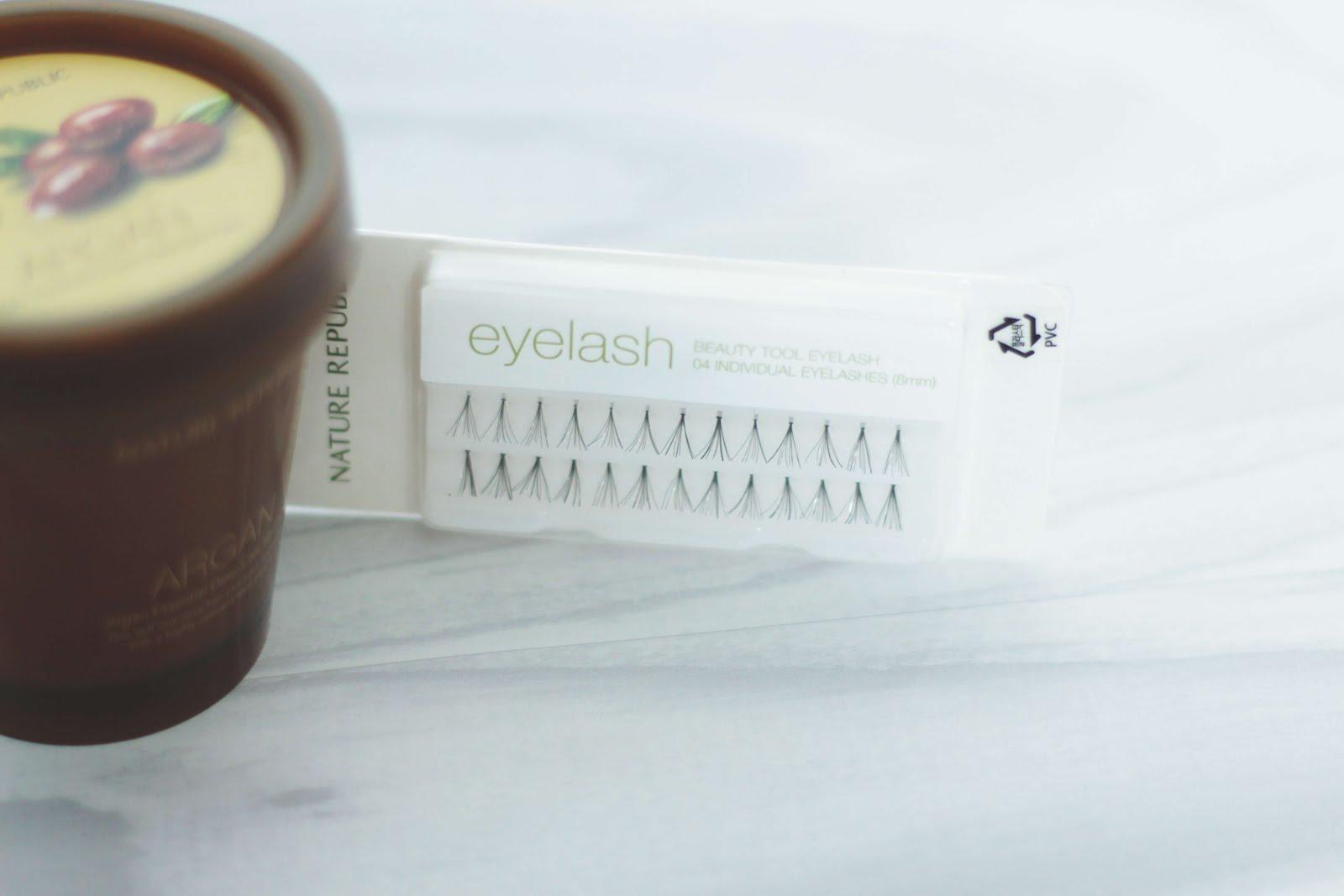 nature republic individual eyelashes beauty tool 04 8mm