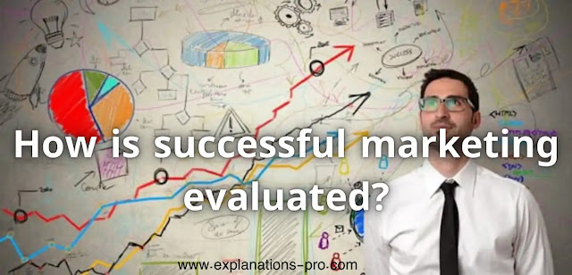 How is successful marketing evaluated?