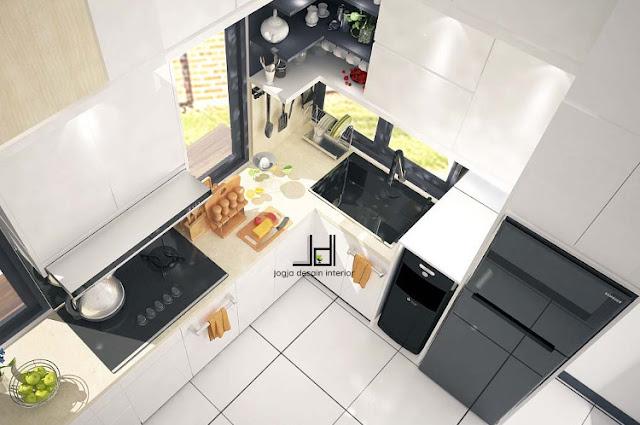 Gambar kitchenset modern, sumber Jogja Desain Interior