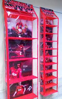 Rak Tas Rak Sepatu Manchester United