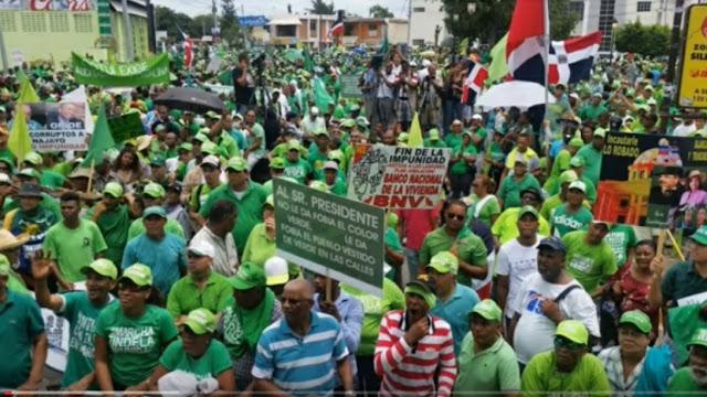 Marcha por el Fin de la Impunidad en Republica Dominicana