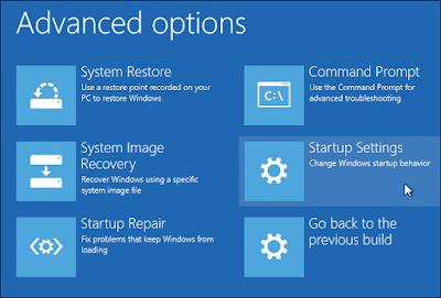 Windows 10 Advance Option - restart -4