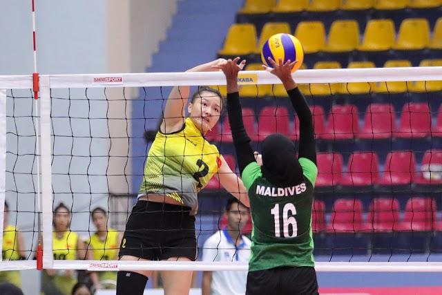 Giải vô địch U23 nữ châu Á 2019: Qúa chênh lệch!