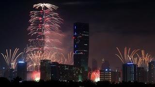 Happy New Year 2019 Live Dubai Abu Dhabi Burj Khalifa Live Fireworks