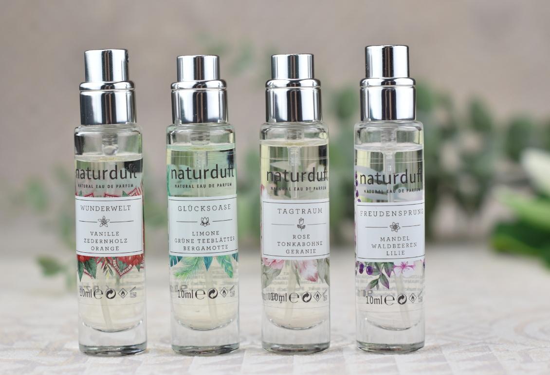 alverde Naturkosmetik - naturduft Parfum Duft Review - Wunderwelt - Freudensprung - Tagtraum - Glücksoase