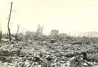 Hirshima est détruite le 6 août 1945 par la première bombe atomique