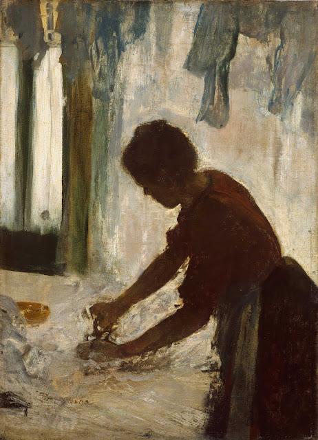 Эдгар Дега - Гладильщица (1873)