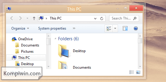 Tema Windows 8 dan Windows 8.1