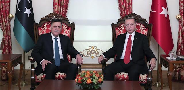 Ερντογάν στο Politico: Η ειρήνη στη Λιβύη περνά από την Τουρκία