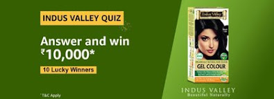 Amazon Indus Valley Quiz Answers