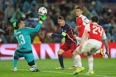 مشاهدة مباراة برشلونة وارسنال