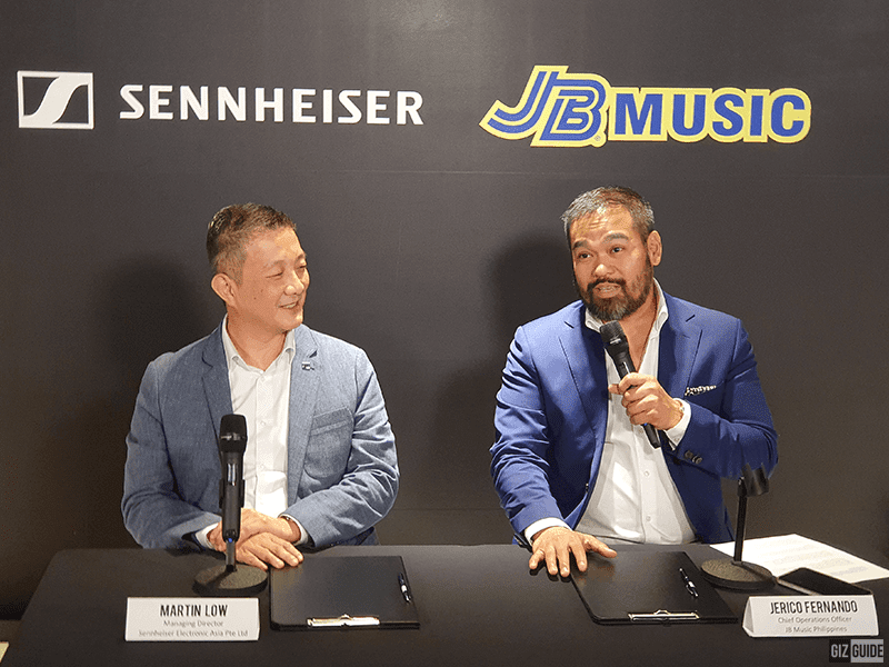 Sennheiser partners with JB Music! Announces new wireless microphones for 2019