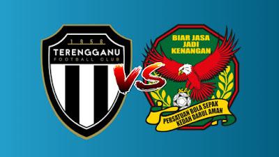 Live Streaming Terengganu FC vs Kedah Liga Super 9 Julai 2019