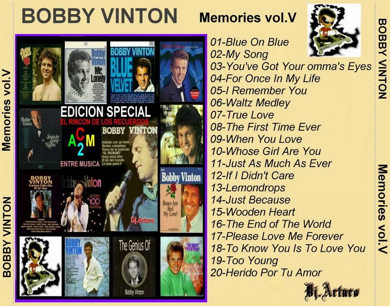 ENTRE MUSICA: BOBBY VINTON - 100 Memories (5 CDs)