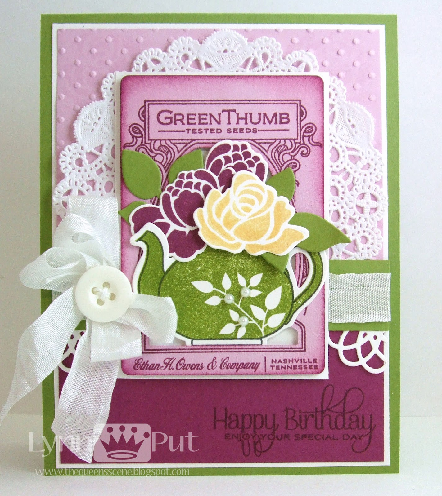 Hello There! Today I Have A Birthday Card For My Special Friend Kathy Whou0027s  Birthday Is Tomorrow. I Hope She Has A Wonderful Day.