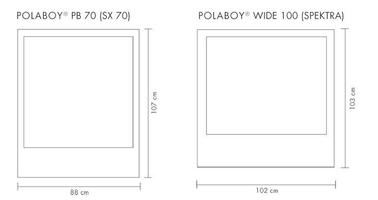 souvent photo polaroid dimension vg21 montrealeast. Black Bedroom Furniture Sets. Home Design Ideas