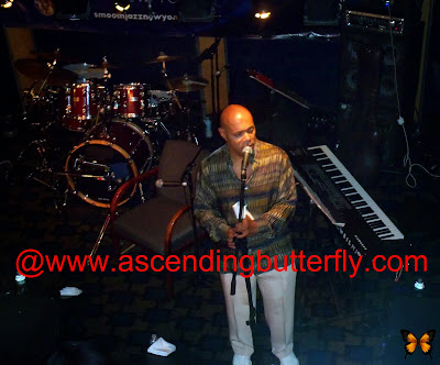 Lenny Green of The Quiet Storm Kicked things off during the Smooth Jazz Encore Angela Bofill Experience Cruise in New York City, October 2013!
