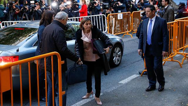 España: el Tribunal Supremo acuerda prisión bajo fianza para la presidenta del Parlamento catalán