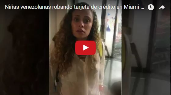 Atrapan a dos chicas venezolanas por usar tarjeta de crédito robada en Miami