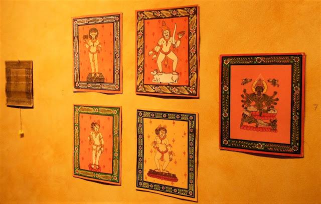 orissa tempio yogini hirapur danza pittura