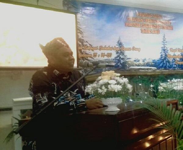 Keluarga Besar Rimbawan Dishut Provinsi Kalteng Rayakan Natal Bersama