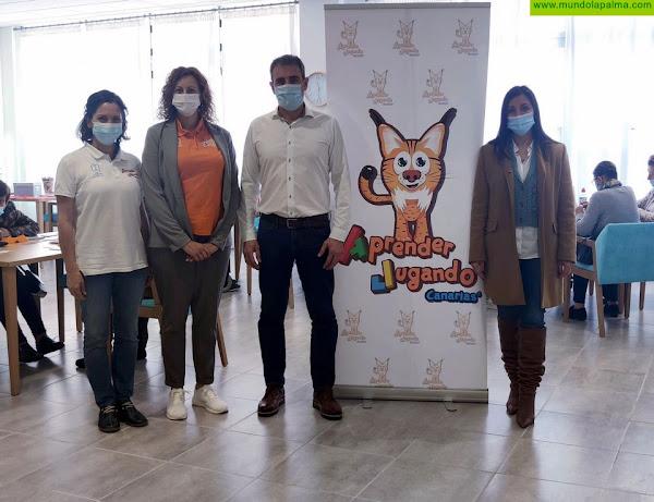 Aprender Jugando Senior estrena el reciente Centro de Día de San Andrés y Sauces