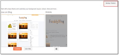 how to install template in blogger