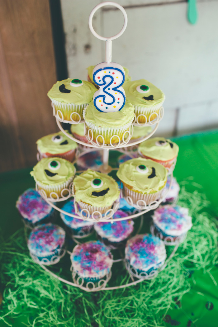DIY Monsters Inc Birthday Party