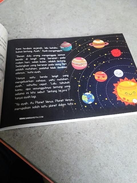 buku cerita anak aku dan alam semesta