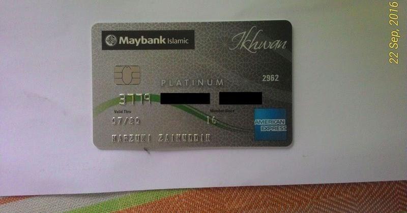 Maybank Islamic Ikhwan American Express Platinum Card I
