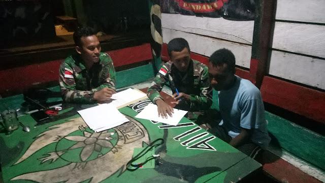 Wujudkan Mimpi Putra Papua Jadi TNI, Satgas 411 Kostrad Tempa Roni Kabarjay