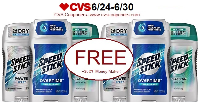 http://www.cvscouponers.com/2018/06/free-021-money-maker-for-speed-stick.html