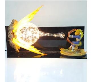 lamparas de dragon ball