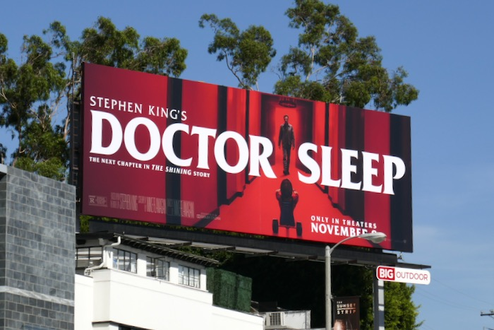 Doctor Sleep movie billboard