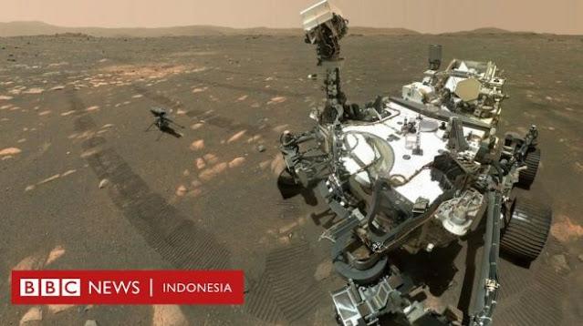 Robot NASA Berhasil Ciptakan Oksigen di Mars