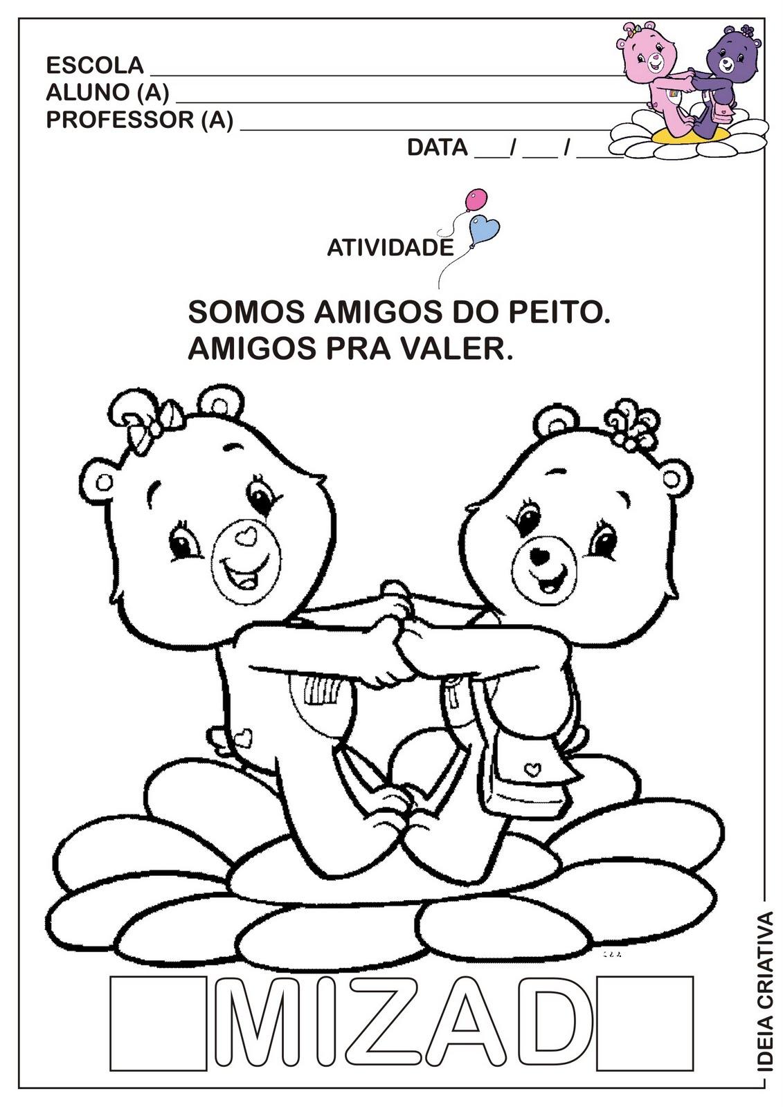 Professora Tati Simoes Dia Do Amigo