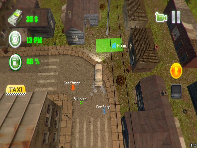 لعبة Grand Taxi Driver 3D