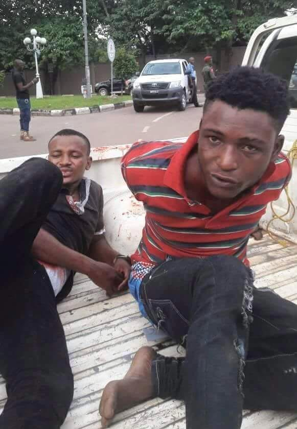 Graphic: Police nab 6-man armed robbery group that terrorised Enugu on Wednesday