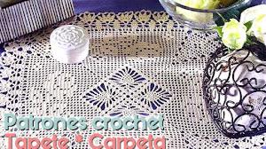 Tapete ~ Carpeta para Deco Hogar / Patrón crochet