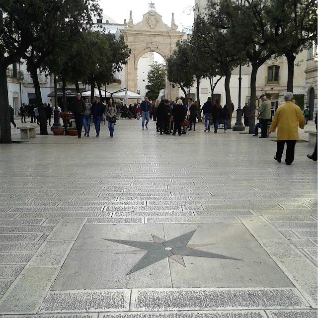 Porta di Santo Stefano nel centro storico di Martina Franca
